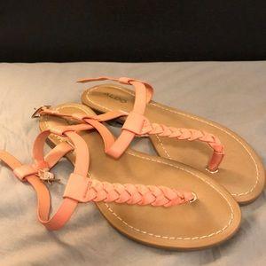 Coral Aldo Sandals size 6.5